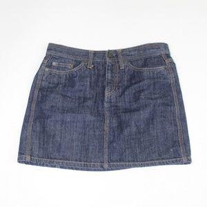 Blue Denim jean Mini Skirt